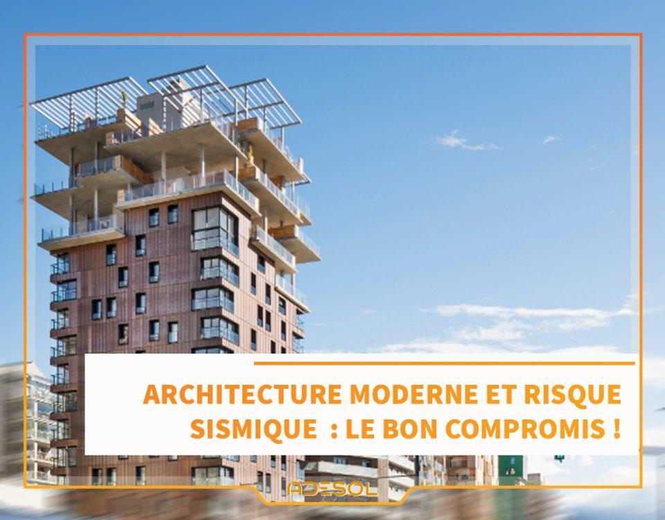 ARCHITECTURE RISQUE SISMIQUE
