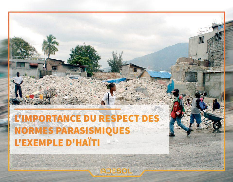 NORMES PARASISMIQUES ARCHITECTURE HAITI